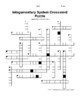 Integumentary System Crossword Puzzle