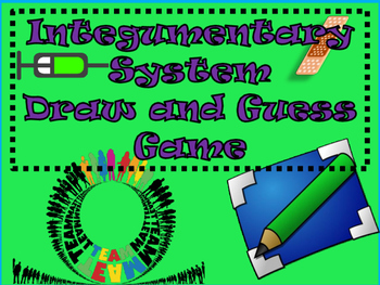 Integumentary System Draw Guess Game By Health Science Made Easy 4u