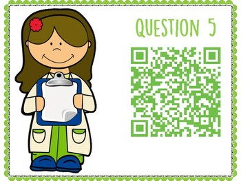 Integumentary System QR Code Hunt (Content Review or Notebook Quiz)