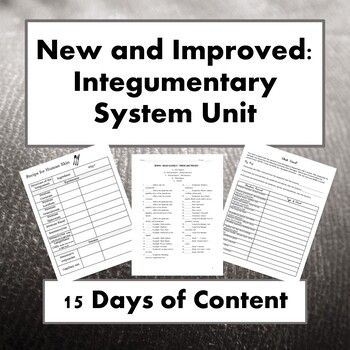 Integumentary System Unit
