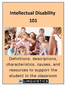 Intellectual Disability 101
