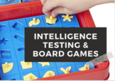 Intelligence Testing Stations, Board Game Activity | Cognitive Psychology