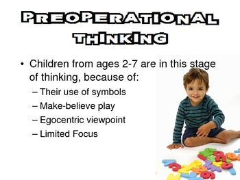 Intelligence & Learning from ages 4 to 6 Powerpoint for Child Development