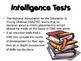 Intelligence & Learning from ages 4 to 6 Powerpoint for Ch
