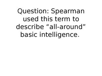 Intelligence, Sleeping, Learning Q & A