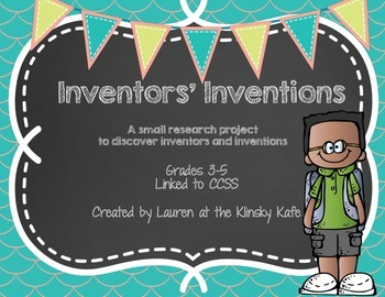 Intelligent Inventors Research Project