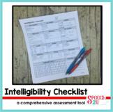 Articulation Intelligibility Checklist Assessment