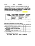 Intelligibility Questionnaire for Teachers