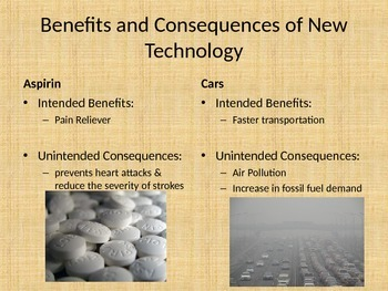 Intended Benefits and Uninteded Consequences of Technology Project