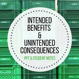 Intended Benefits and Unintended Consequences of New Technology