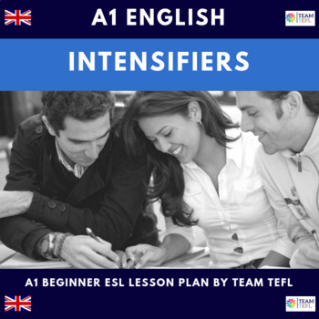 Intensifiers A1 Beginner Lesson Plan For ESL