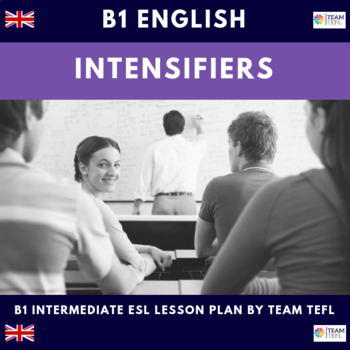 Intensifiers - Too / Enough B1 Intermediate Lesson Plan For ESL