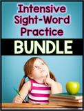 Intensive Sight-Word Practice BUNDLE (Pre-Primer, Primer &