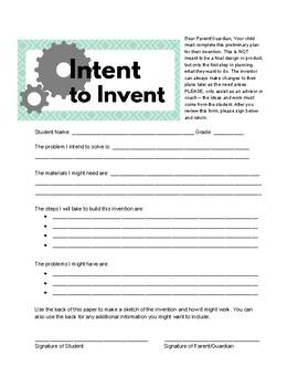 Intent to Invent