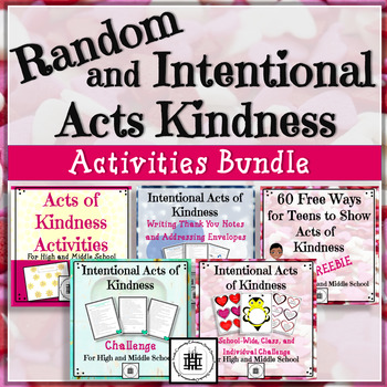 Intentional Acts of Kindness Bundle