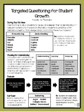 Intentional Questioning Sequences Planning Guide