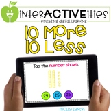 Distance Learning InterACTIVEities - 10 More 10 Less Digit