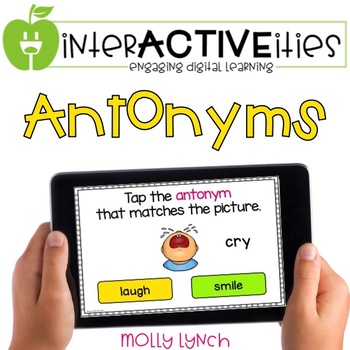 InterACTIVEities - Antonyms Digital Learning