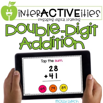 InterACTIVEities - Double Digit Addition Digital Learning