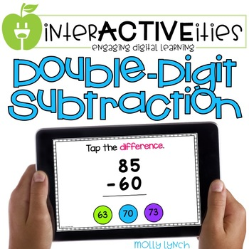 InterACTIVEities - Double Digit Subtraction Digital Learning