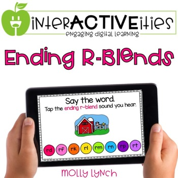 InterACTIVEities - Ending R-Blends Digital Learning