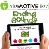 Distance Learning InterACTIVEities - Ending Sounds Digital
