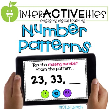 InterACTIVEities - Number Patterns Digital Learning