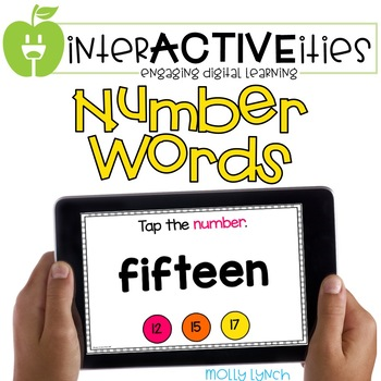 InterACTIVEities - Number Words Digital Learning