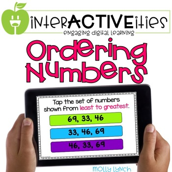 InterACTIVEities - Ordering Numbers Digital Learning