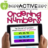 Distance Learning InterACTIVEities - Ordering Numbers Digi