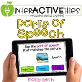 Distance Learning InterACTIVEities - Parts of Speech Digit