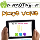 Distance Learning InterACTIVEities - Place Value Digital Learning