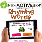 Distance Learning InterACTIVEities - Rhyming Digital Learning