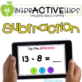 Distance Learning InterACTIVEities - Subtraction Digital Learning