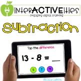 InterACTIVEities - Subtraction Digital Learning
