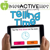 Distance Learning InterACTIVEities - Telling Time Digital
