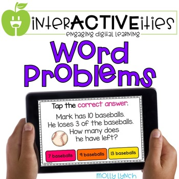 InterACTIVEities - Word Problems Digital Learning