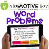 Distance Learning InterACTIVEities - Word Problems Digital