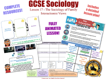 Interactionist Views - Sociology of Family (GCSE Sociology - L17/20)