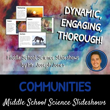 Interactions Within Communities: A Life Sciences Slideshow!
