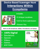 Interactions Within Ecosystems – A Device-Based Scavenger Hunt Activity