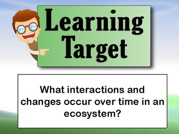 Interactions and Changes in an Ecosystem