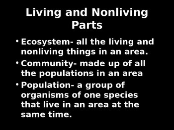 Interactions in Ecosystems PowerPoint (5th Grade Scott Foresman Science- Ch. 5)
