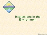 Interactions in the Environment Ecology PowerPoint Presentation Lesson