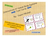Interactions of Human Body Systems-Task Cards