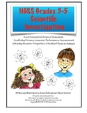 NGSS Grades 3-5 Scientific Investigations of Matter: Unfol