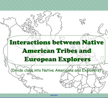 Interactions of Native Americans and European Explorers