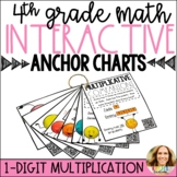 1-Digit Multiplication Strategies Interactive Anchor Charts with QR Codes