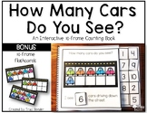 Interactive 10-frame Counting Book with Bonus 10-frame Flashcards