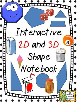 2-D and 3-D Shapes - Interactive Notebook